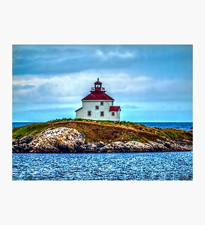 Queensport Lighthouse Photographic Print