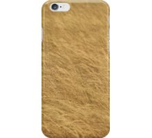 Golden Grass, Classical Textures iPhone Case/Skin