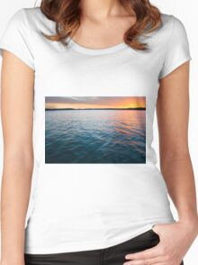 Beautiful Waters Women's Fitted Scoop T-Shirt