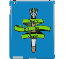 Don't Dis the Sonic - Doctor Who iPad Case/Skin