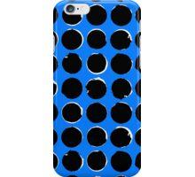 Blue eclipse iPhone Case/Skin
