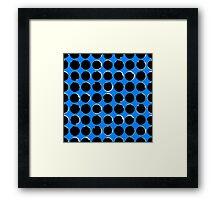 Blue eclipse Framed Print