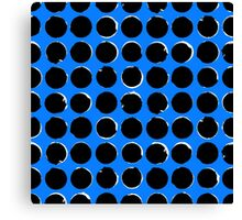 Blue eclipse Canvas Print