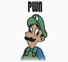 Mama Luigi Baby Tee