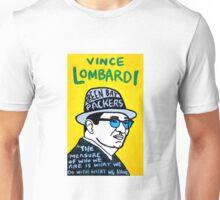 Vince Lombardi Pop Folk Art Unisex T-Shirt