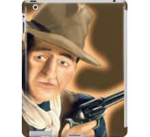 John wayne painting  iPad Case/Skin