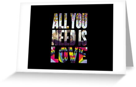 All you need by justintodd17