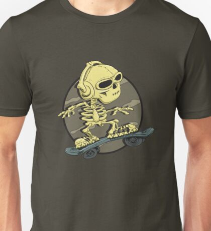 Boric Skateboarding Unisex T-Shirt