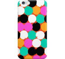 Colorful circles print iPhone Case/Skin