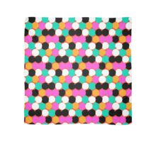 Colorful circles print Scarf