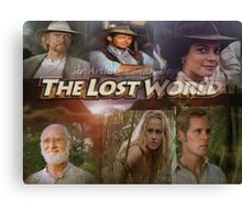 Lost World Poster Canvas Print