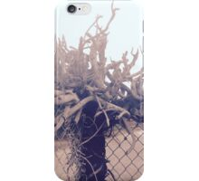 Abstract Rustic Wood iPhone Case/Skin