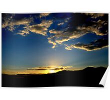 Sunrise - Victorian High Country  Poster