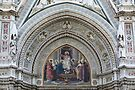 Florence Cathedral Architectural Detail by Trish Meyer