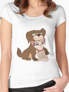 My Pets Women's Fitted Scoop T-Shirt