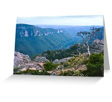 Gorges d'Ardèche II Greeting Card