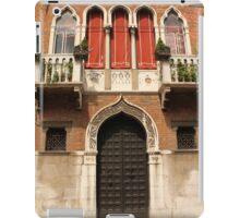Venetian style facade iPad Case/Skin