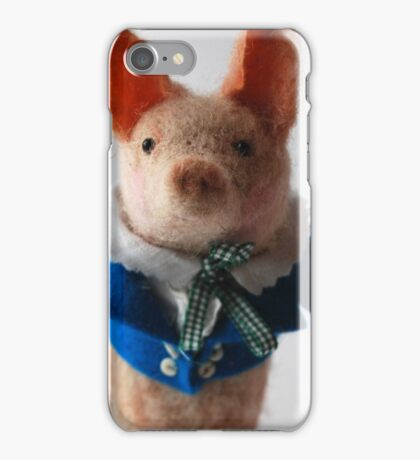Little Lord Piggy iPhone Case/Skin