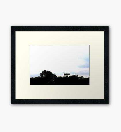 Dekalb, IL Framed Print