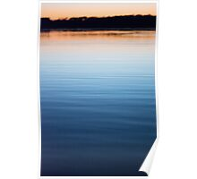 The Tranquility of Dusk Poster