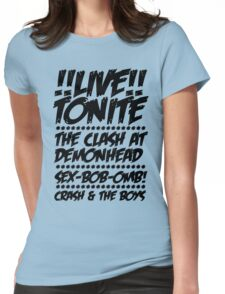Toronto Gig Poster Womens Fitted T-Shirt