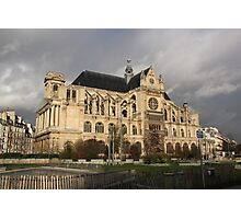 Saint-Eustache Photographic Print