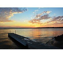 Sunset Pier Photographic Print