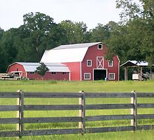 Red Barn by Dan McKenzie