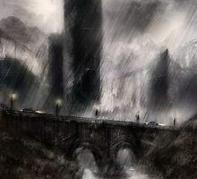 rainy day by James Suret