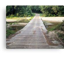 Low Water Bridge - Franklin Co. Mississippi Canvas Print