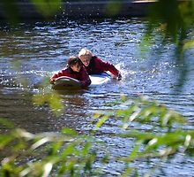 Fun on the River at Exeter,Devon.UK by lynn carter