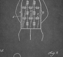 Vintage Soldier Armor Patent 1919 Sticker