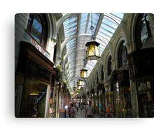 Royal Arcade, Norwich Canvas Print