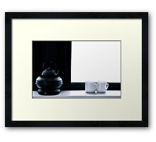 Tea for Two (Cropped) Framed Print