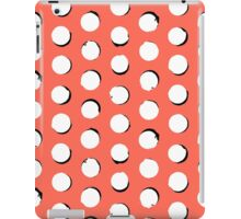 Eclipse polka dot in tropical pink iPad Case/Skin