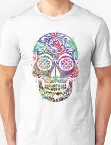 Sugar Skull Watercolor T-Shirt