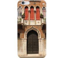 Venetian style facade iPhone Case/Skin