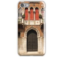 Venetian style facade iPhone Case/Skin