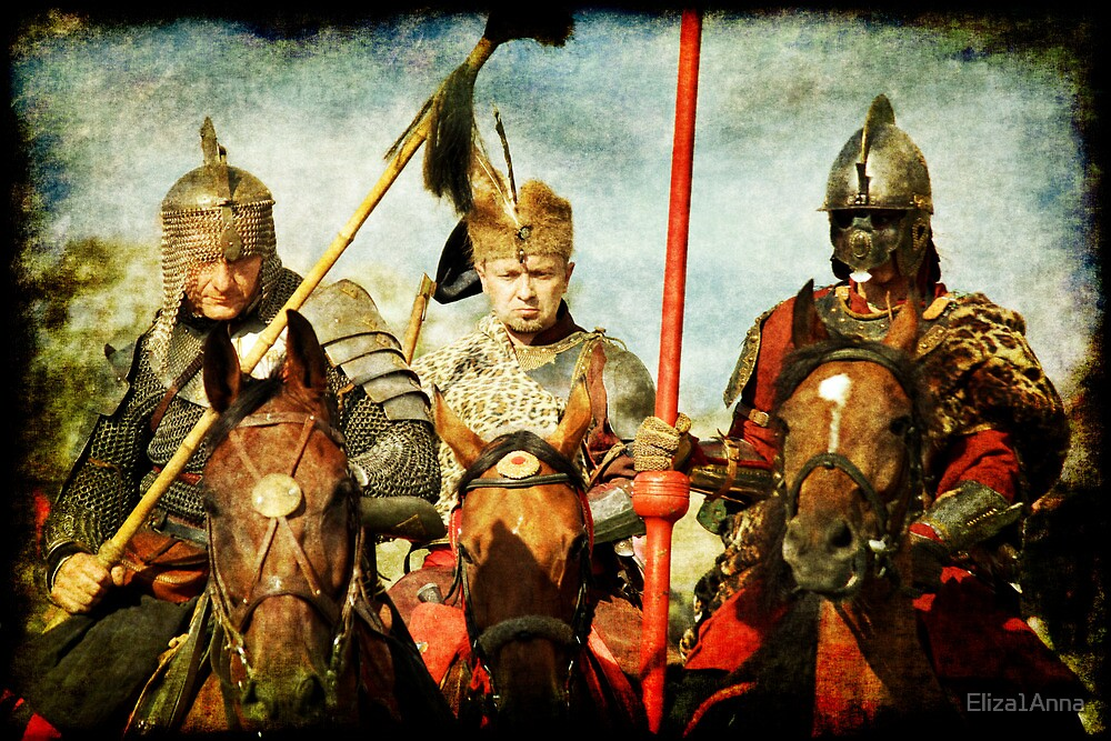 The knights are coming... by Eliza1Anna