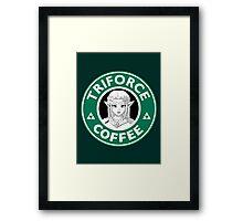Triforce Coffee (Zelda) Framed Print