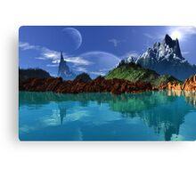Lathinium Spire - Earthsea Canvas Print