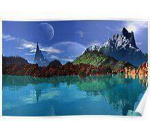 Lathinium Spire - Earthsea Poster