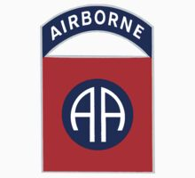 Logo of the Eighty-Second Airborne! One Piece - Short Sleeve