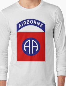 Logo of the Eighty-Second Airborne! Long Sleeve T-Shirt