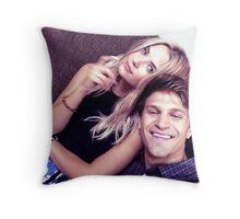 Ash & Keegan Throw Pillow