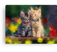 Cute Kittens Canvas Print