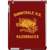 Sunnydale Razorbacks  iPad Case/Skin
