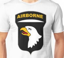 Logo of the SCREAMING EAGLES Airborne Division Unisex T-Shirt