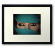 Don' t look at me that way... Framed Print