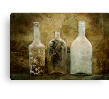 Dirty Bottles Canvas Print